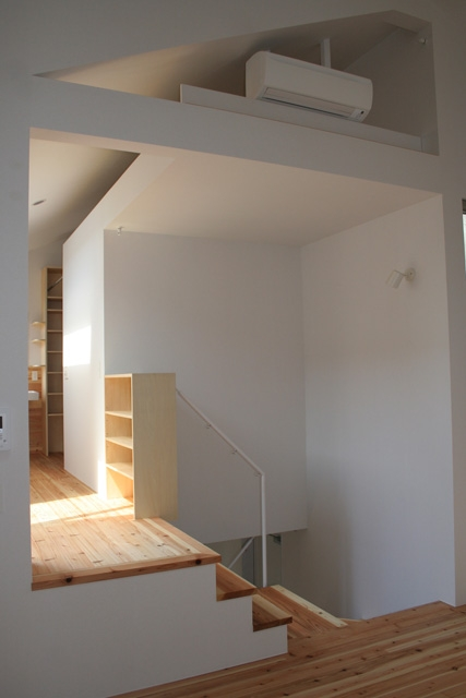 ぷちECOの家の部屋 階段
