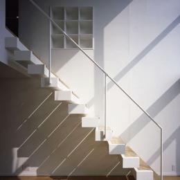 二葉アパートメント (階段)