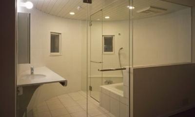 二葉アパートメント (浴室・洗面所)