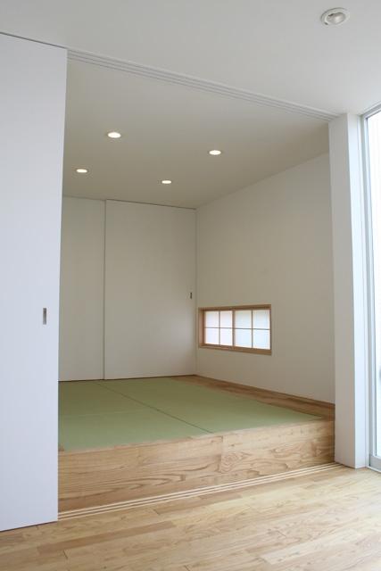 卯(うさぎ)玄関の家の部屋 和室