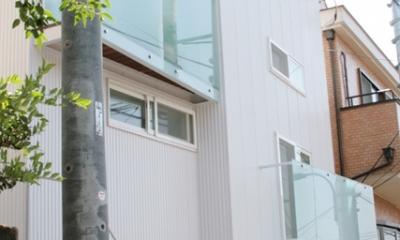 卯(うさぎ)玄関の家