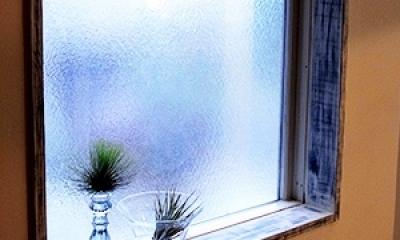 造作家具&プチアンティーク (窓枠&ガラス)