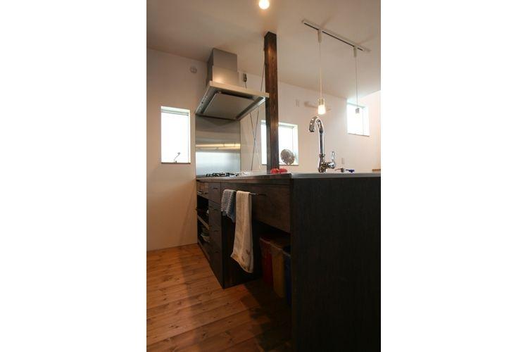 ナチュラルシックに暮らす家の写真 キッチン