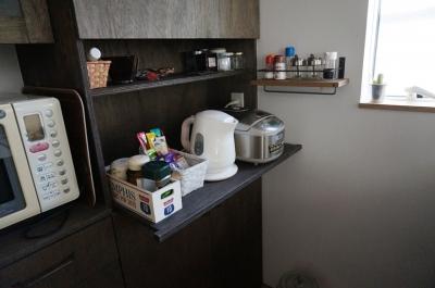キッチン収納 (ナチュラルシックに暮らす家)