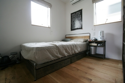 ベッドルーム (ナチュラルシックに暮らす家)