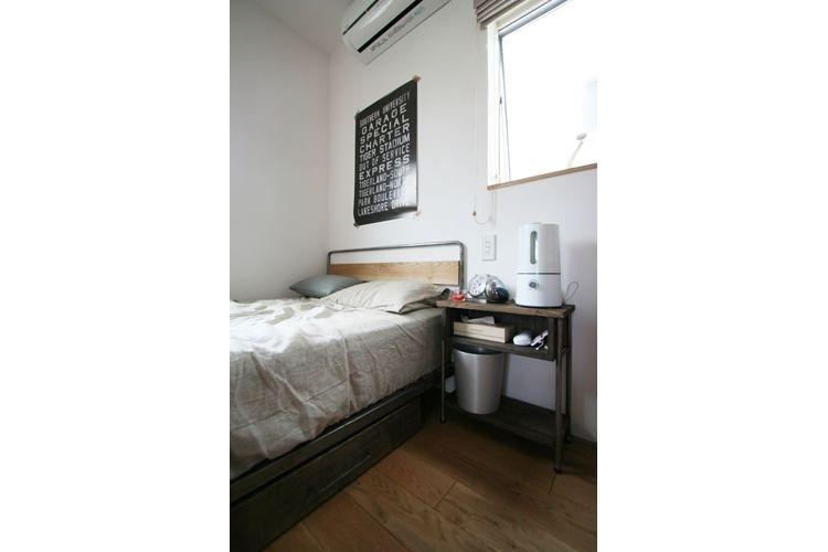 ナチュラルシックに暮らす家の写真 ベッドルーム
