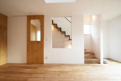 階段 (ひだまり-前地の家-)