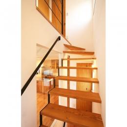 ひだまり-前地の家- (階段)
