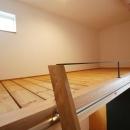 ひだまり-前地の家-の写真 ベッドルーム(ロフト式)
