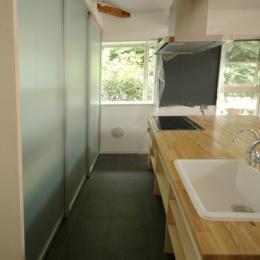 キッチンの作業スペース