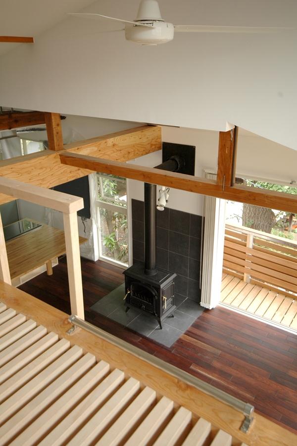建築家:大庭明典「木々の中に浮かぶ大きなバルコニー」
