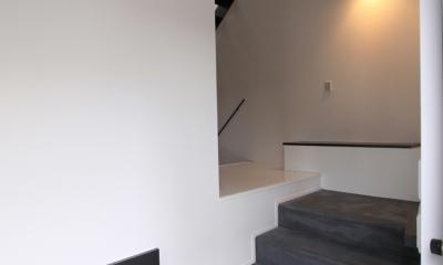 愛犬と暮らす家 地下室のあるOUCHI-13 (スキップした玄関)