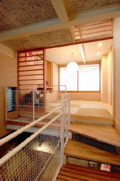 タタミの寝室 (空とともに暮らす家)