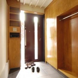 玄関引戸と収納