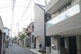 open-end house (外観)