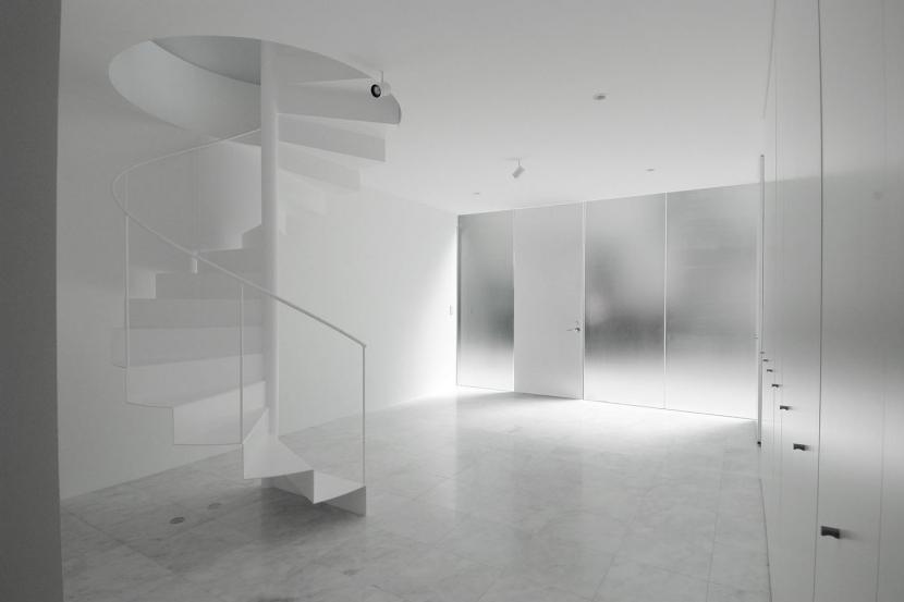 西麻布L邸の部屋 玄関