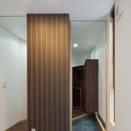 名切の家 (玄関)