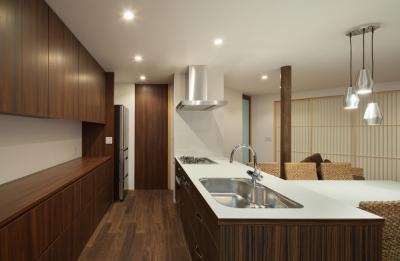 名切の家 (キッチン)