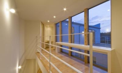 宿郷の家 (2階階段・廊下)