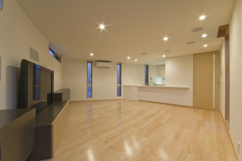 宿郷の家 (2階リビング・ダイニング)