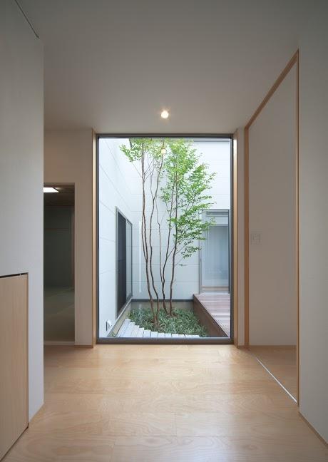 折敷瀬の家 (廊下)
