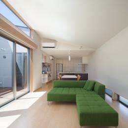 折敷瀬の家 (リビング・ダイニング・キッチン)
