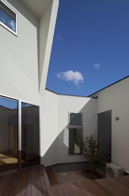 白岳の家の部屋 テラス