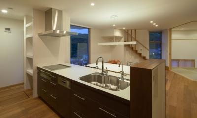 白岳の家 (キッチン)