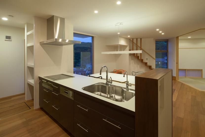 白岳の家の部屋 キッチン