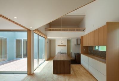轟木町の家 (キッチン)