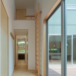 轟木町の家 (廊下)