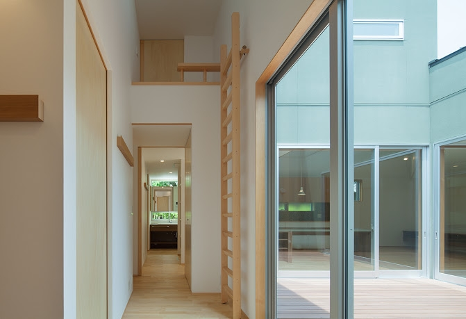 轟木町の家の部屋 廊下
