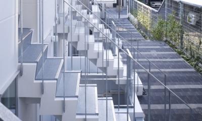 代々木ハウス (エントランス階段)