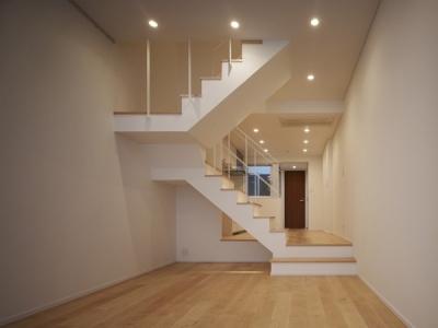リビング・階段 1 (代々木ハウス)