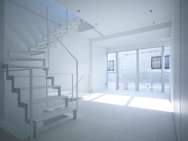 代々木ハウス (リビング・階段 5)