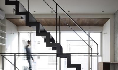 代々木ハウス (階段 2)