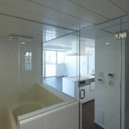 神楽坂南町ハウス (浴室)