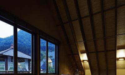 雑魚寝部屋2(夜景)|阿蘇・Villa B