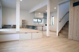T邸戸建住宅リノベーション (リビングダイニング 1)