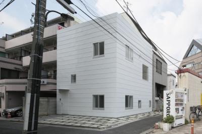 曙橋の家 / 都心の小さな家 (外観 / 北東面)