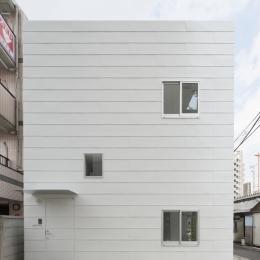 曙橋の家 / 都心の小さな家-外観 / 東面