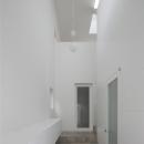 玄関 / 開放感のある玄関