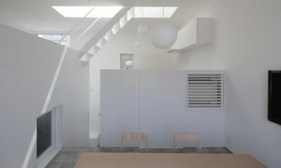 曙橋の家 / 都心の小さな家 (ダイニング / 明るいダイニング2)