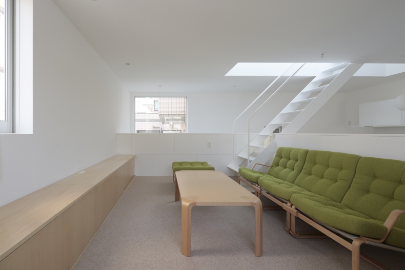 曙橋の家 / 都心の小さな家の写真 リビング / 開放感のあるリビング