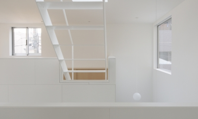 曙橋の家 / 都心の小さな家 (キッチン / 開放的な明るいキッチン3)