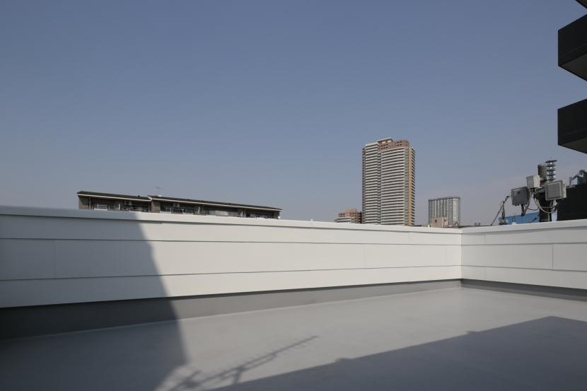 曙橋の家 / 都心の小さな家の写真 ルーフテラス / 広いルーフテラス