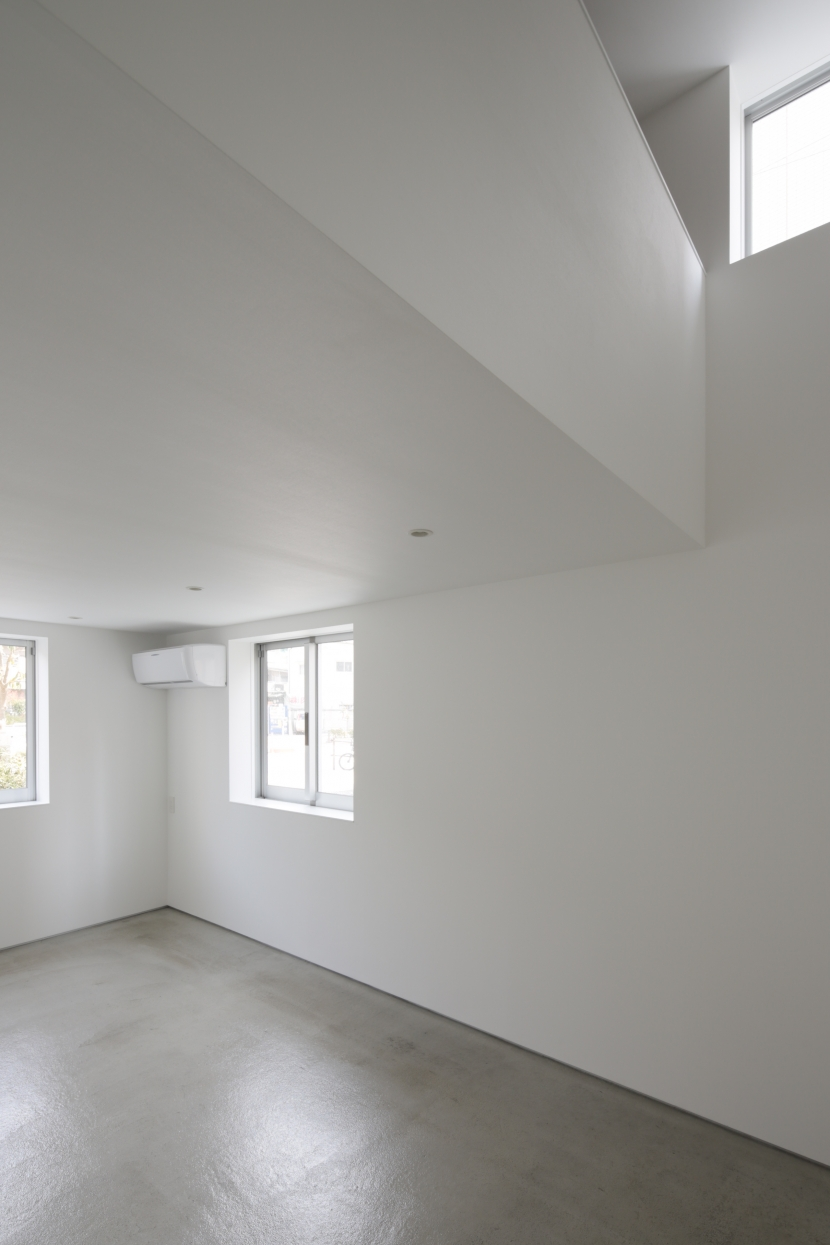 曙橋の家 / 都心の小さな家の写真 納戸 / 広い収納部屋