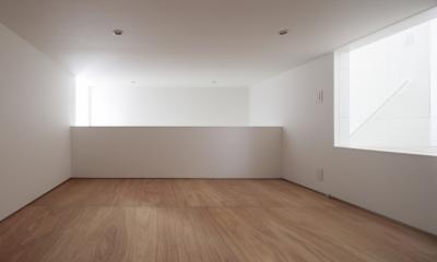 曙橋の家 / 都心の小さな家 (床下収納 / 便利な収納部屋)
