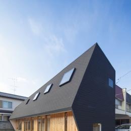 武蔵増戸の家 / 郊外の庭家