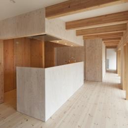 武蔵増戸の家 / 郊外の庭家 (ダイニングキッチン2)